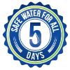 Grosche water safe for all 5 days logo-172