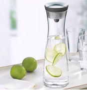 Water Carafe In Use