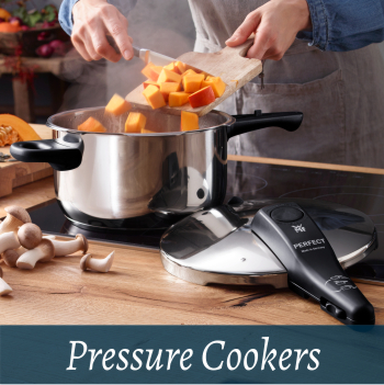 Cookware pressure cookers