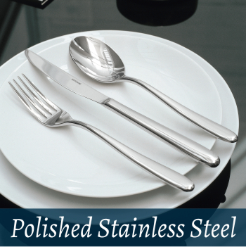Cutlery polished stainless stell