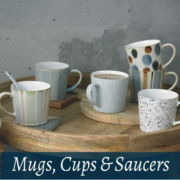 Giftware mugs cup saucers