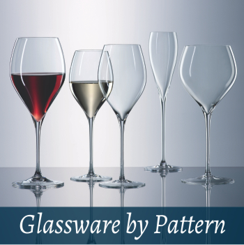 Glassware by pattern