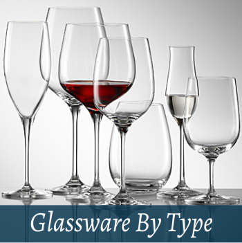 Glassware by type