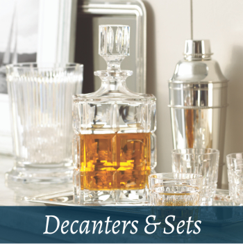 Glassware decanters & sets