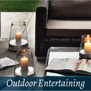 Lifestyle outdoor entertaining