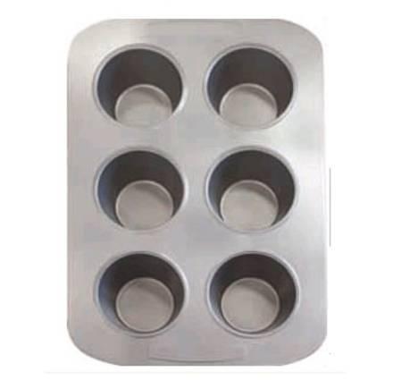 The Studio Of Tableware Raco Jumbo Muffin Pan 6 Cup