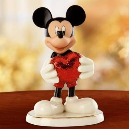 The Studio Lenox Mickey Mouse Disney Love Struck Mickey